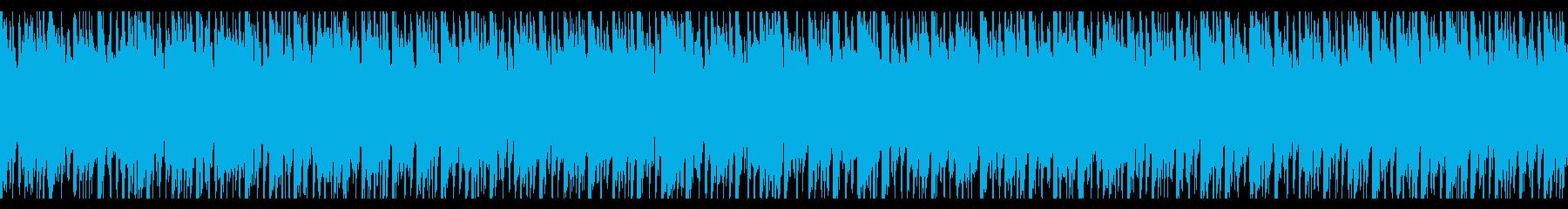 あっさりと優しいほのぼのエンディングの再生済みの波形