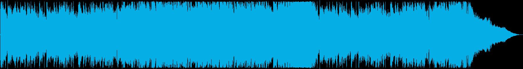 エンディング・爽やかな洋楽ポップスの再生済みの波形
