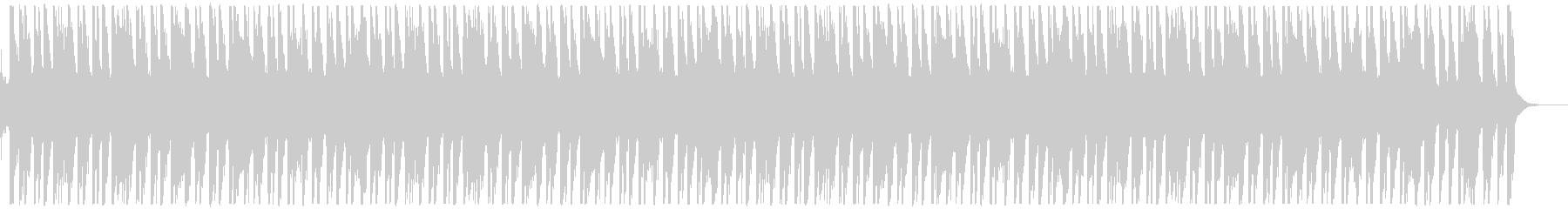 EGタッピング変拍子のノリノリインストの未再生の波形