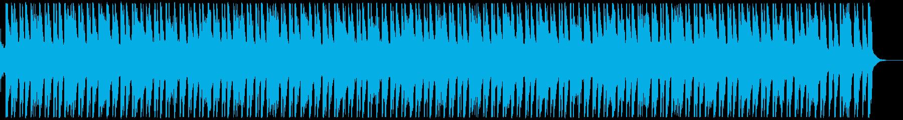 EGタッピング変拍子のノリノリインストの再生済みの波形