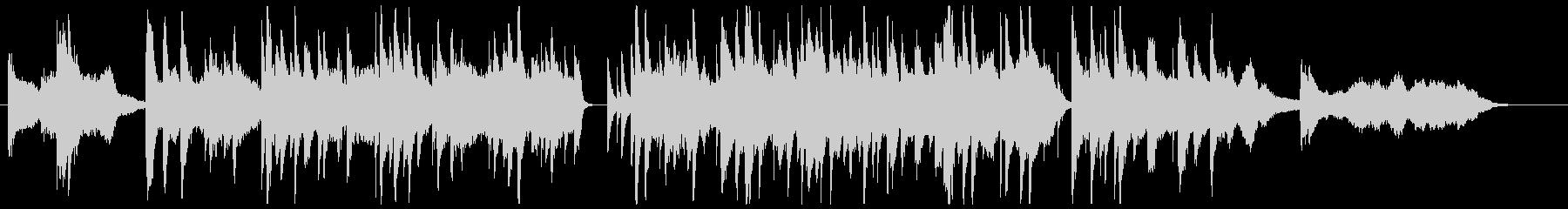 しっとりメロウなジャズバラードの未再生の波形