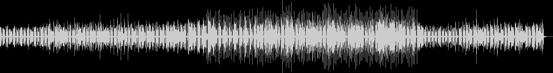 エレピ、オルガンによる日常的BGMの未再生の波形