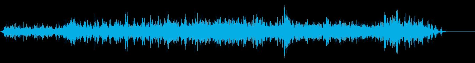 地震の再生済みの波形
