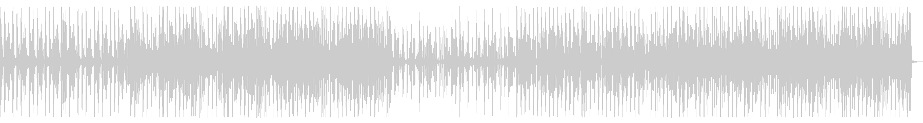 淡白な雰囲気のハウス_No539の未再生の波形
