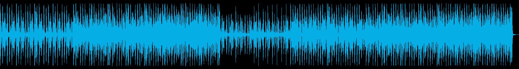 淡白な雰囲気のハウス_No539の再生済みの波形