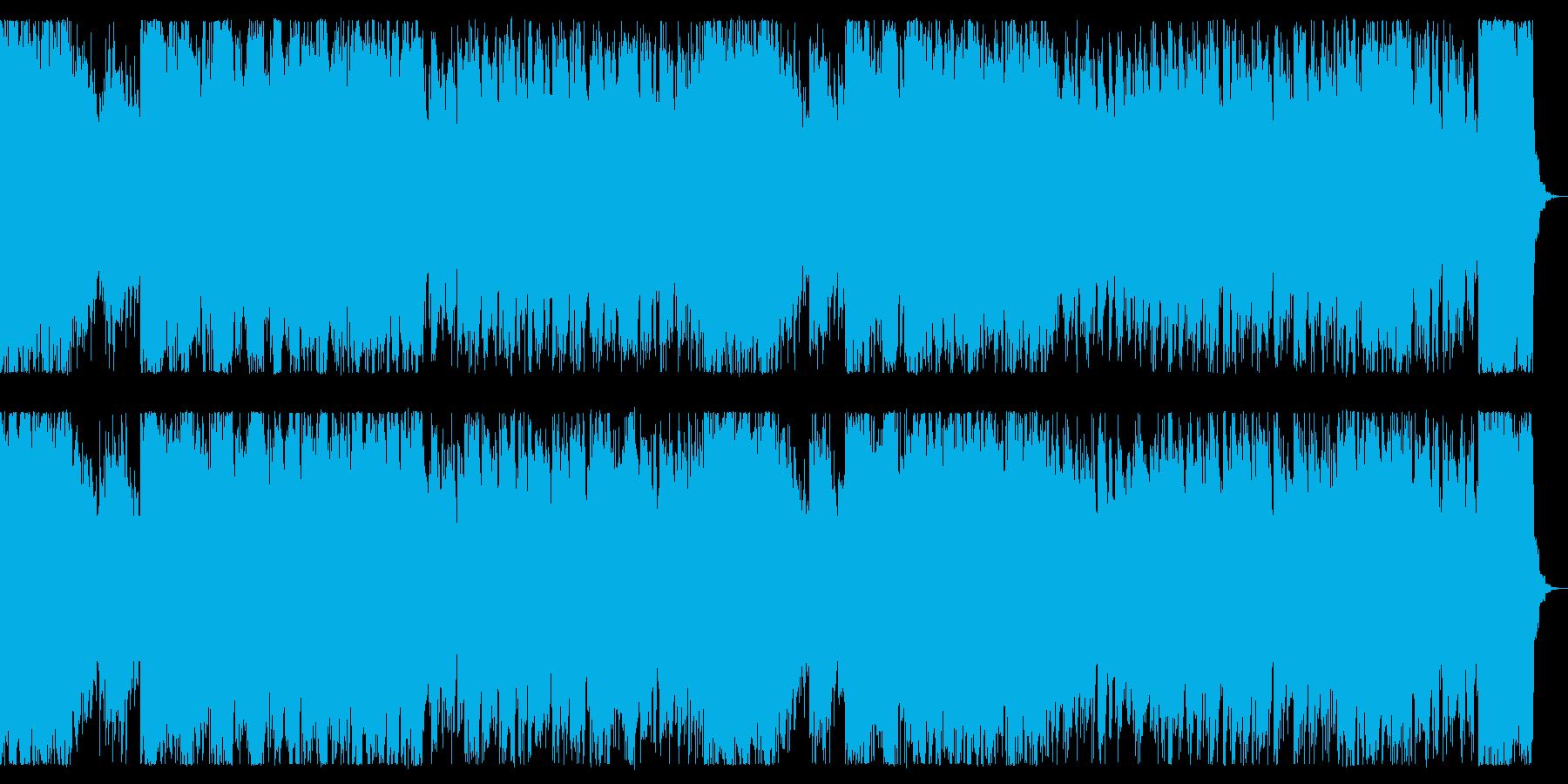 ゆったり切なく、クールなチップチューンの再生済みの波形