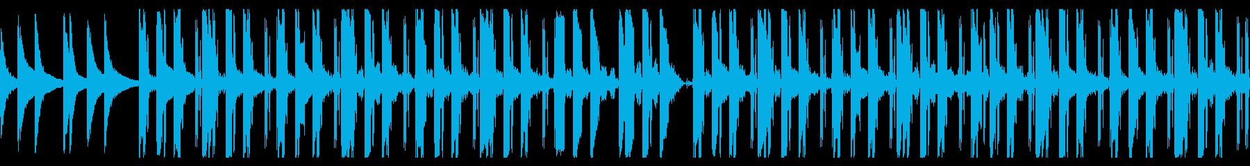 低音が気持ち良いローファイなBGMの再生済みの波形