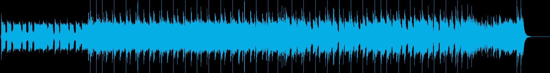 ロックンロールな30秒ジングル2の再生済みの波形