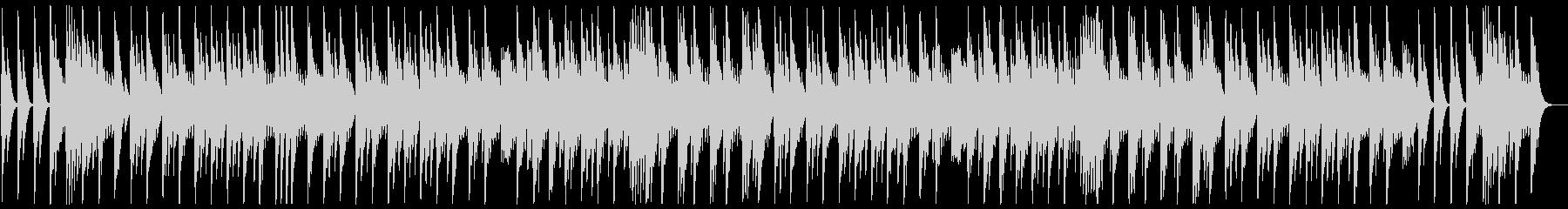 ゆっくり優しい眠たくなるオルゴールの曲の未再生の波形