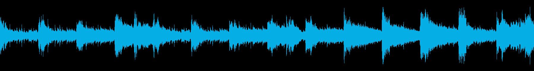 クラシックストリングセクションにピ...の再生済みの波形