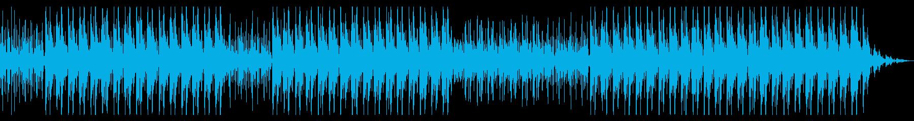 怪しくて悲しい リズミカルなヒップホップの再生済みの波形