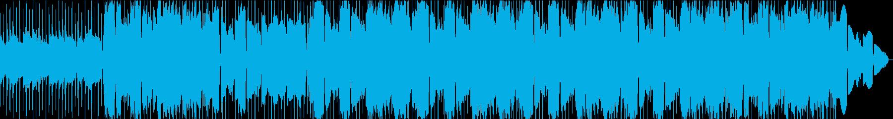メロディアスで哀愁感のあるチルアウトの再生済みの波形