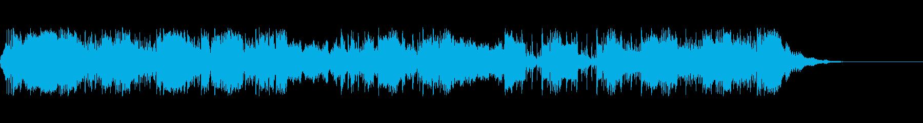 クールジャングルIDベッド1の再生済みの波形