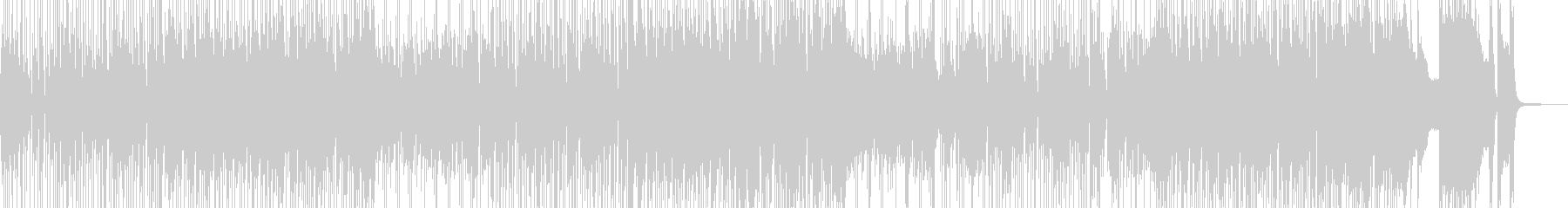 ヒッチハイクで旅するイメージのジャズの未再生の波形