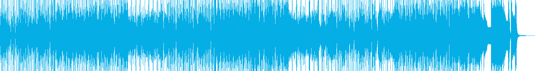 ドライブしたくなるジャズポップスの再生済みの波形