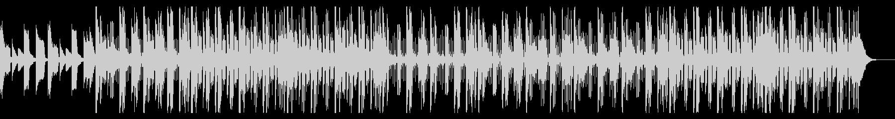 薄暗いトリップホップの未再生の波形