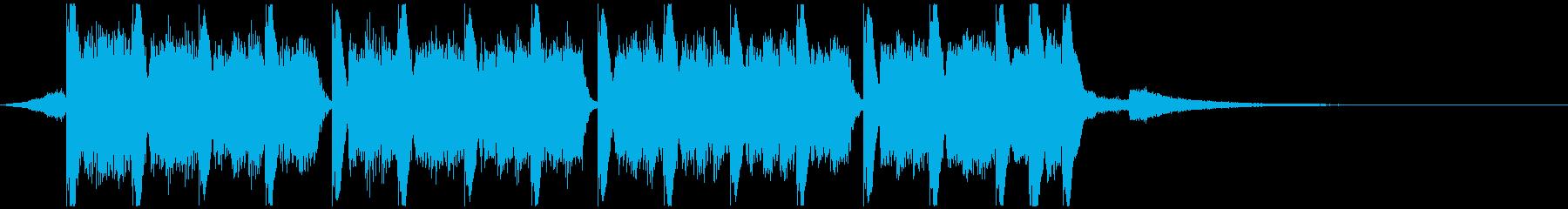 アクションスポーツ(15秒)の再生済みの波形