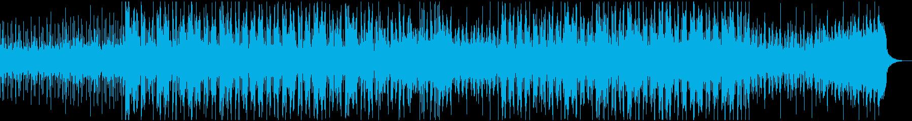 アンビエントエレクトロニックトラッ...の再生済みの波形
