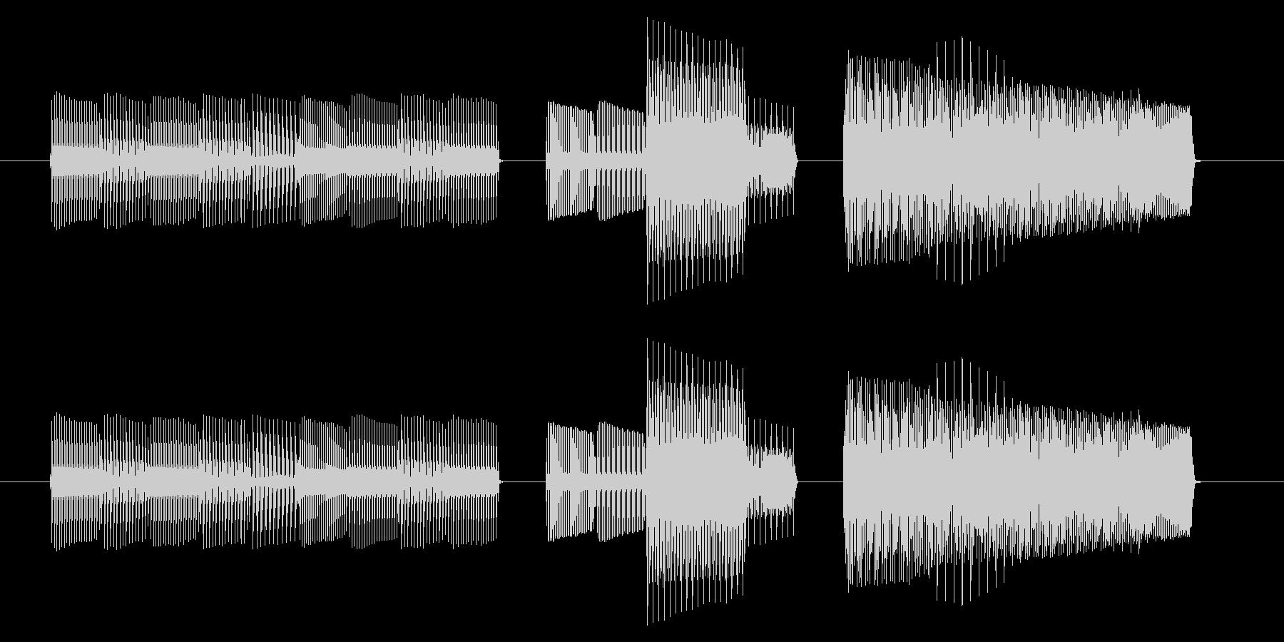 NES 汎用 B03-4(ミス)の未再生の波形
