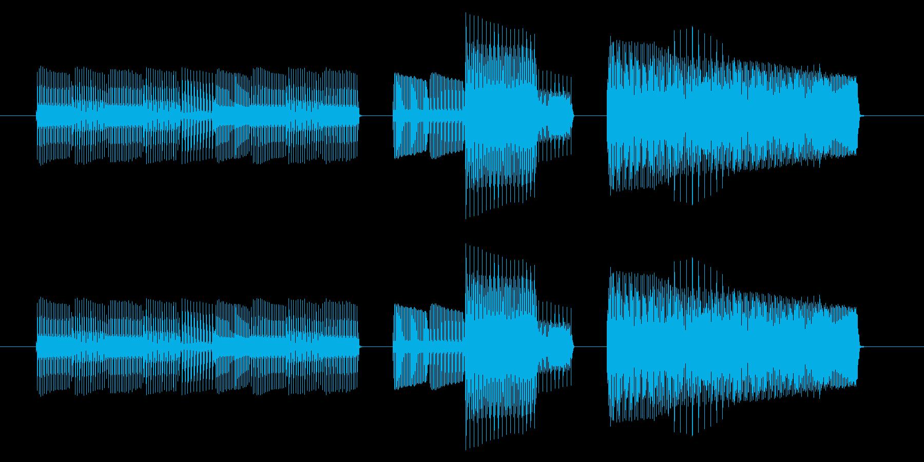 NES 汎用 B03-4(ミス)の再生済みの波形