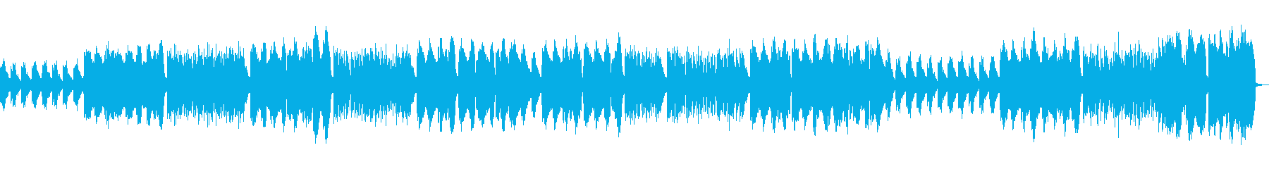 ほのぼ系Cl.とPf.の軽いスウィングの再生済みの波形