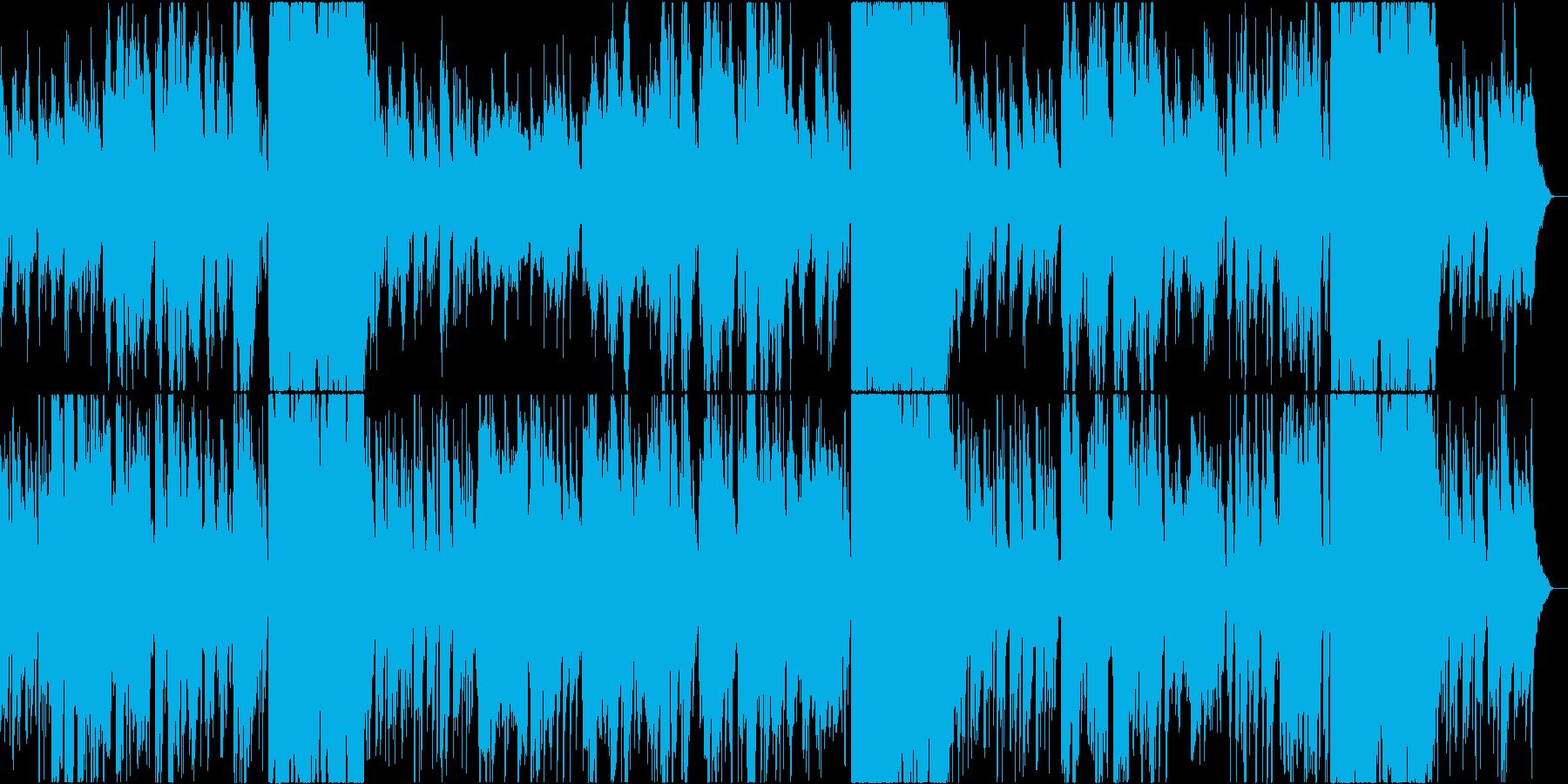 二胡が奏でるオリエンタルで癒やしの音楽の再生済みの波形