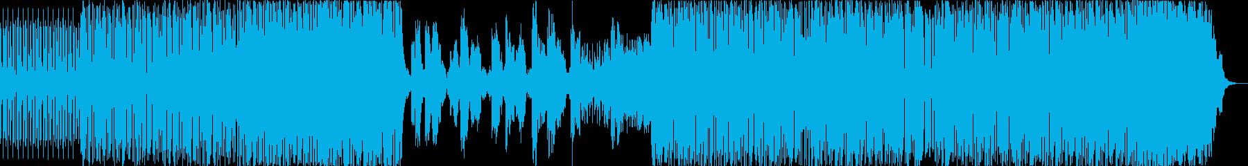 シンセの動き。の再生済みの波形