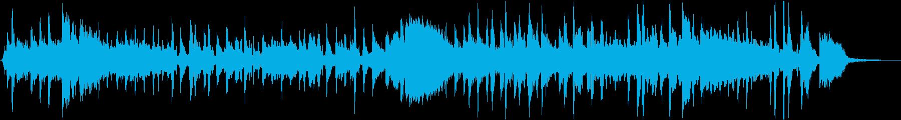 オムライスをテーマにした楽曲の再生済みの波形