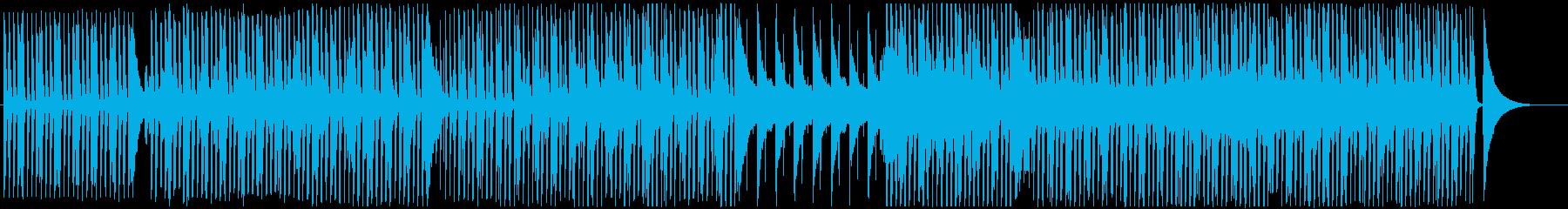 ピアノとギターの穏やか-爽やかポップの再生済みの波形