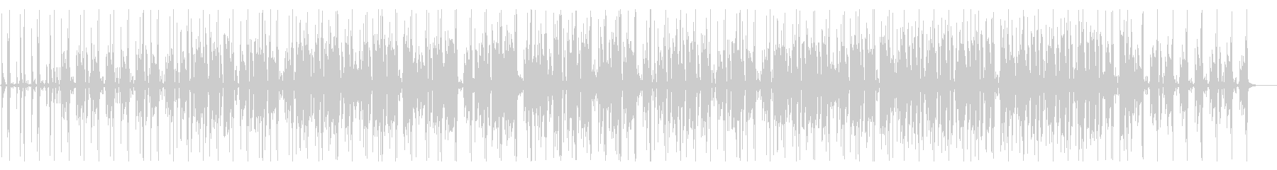 アコースティックギターのおしゃれなBGMの未再生の波形