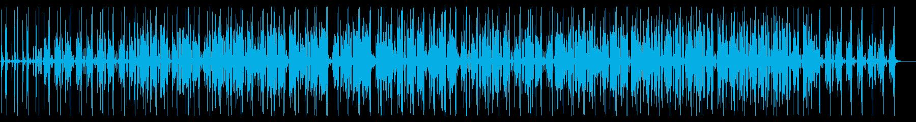 アコースティックギターのおしゃれなBGMの再生済みの波形