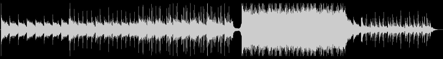 ピアノアルペジオが綺麗な切ない曲の未再生の波形