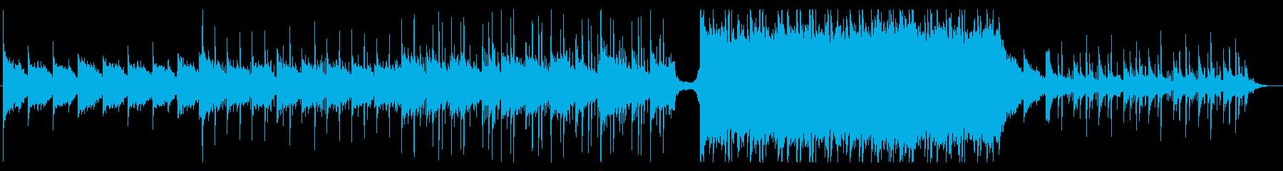 ピアノアルペジオが綺麗な切ない曲の再生済みの波形