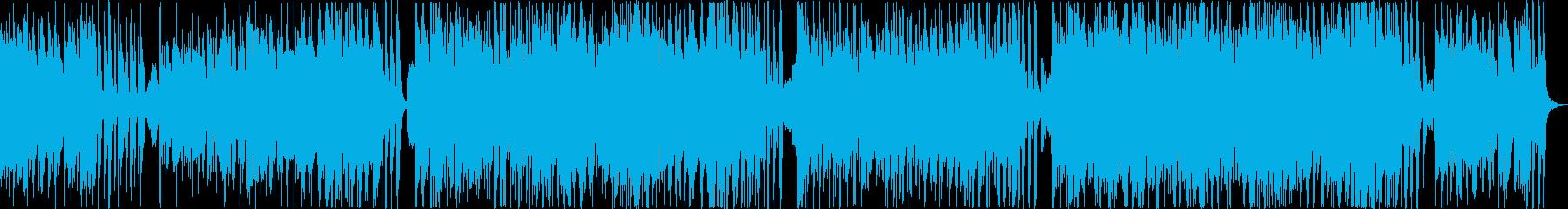 悲しく切ないスリリングなフルート曲の再生済みの波形