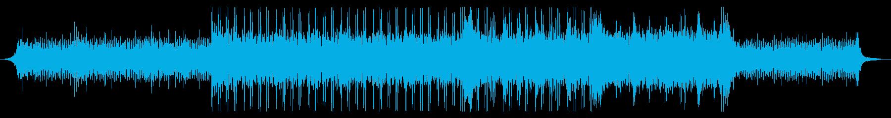 和風楽器・スローなヒップホップの再生済みの波形