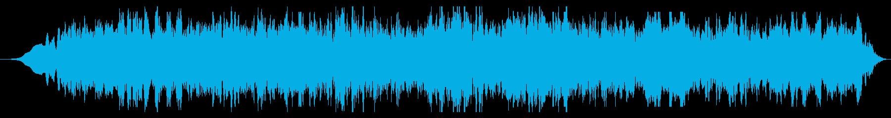スペースドローン:ディープフィアーの再生済みの波形
