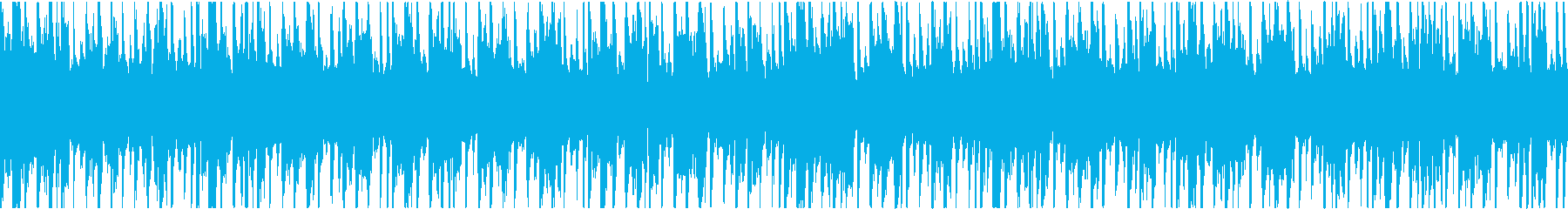 無機質なテクスチャー系BGMの再生済みの波形