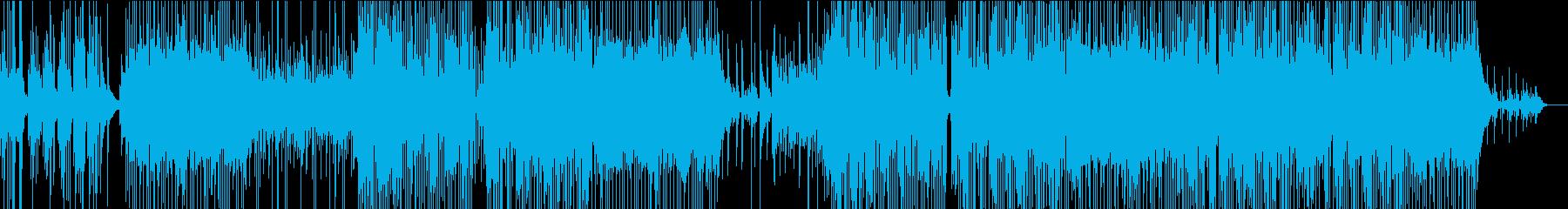 ピアノがメインのバラードポップスの再生済みの波形