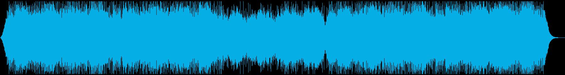 会社紹介や企業VPに明るく華やかな生音系の再生済みの波形