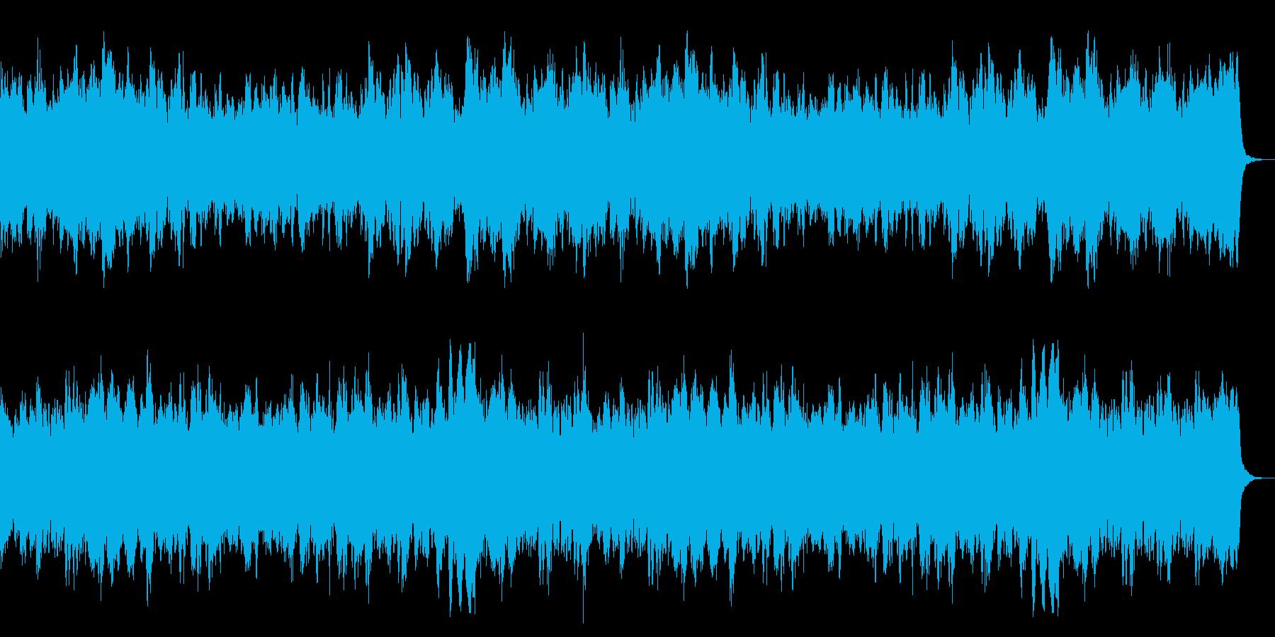 不気味なホラーBGM 迷い恐れ恐怖ダークの再生済みの波形