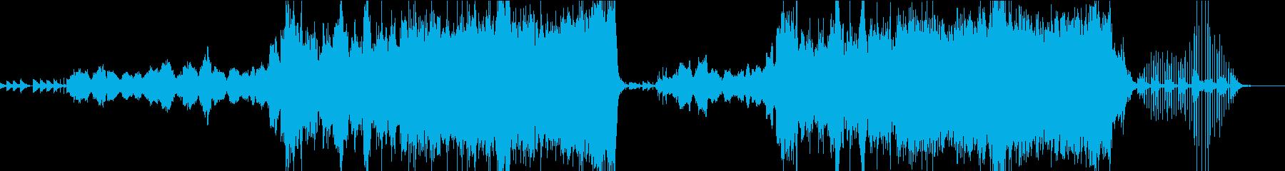 卒業間近の学校をイメージした曲の再生済みの波形