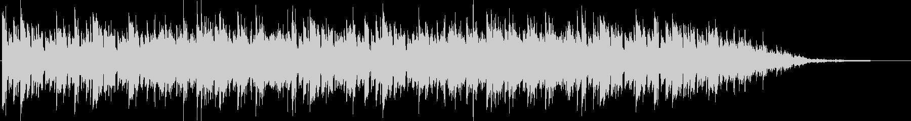 アンニュイなピアノメインBGMの未再生の波形