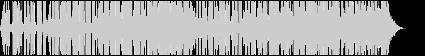 ハッピーで軽快なテクノポップ CM・映像の未再生の波形