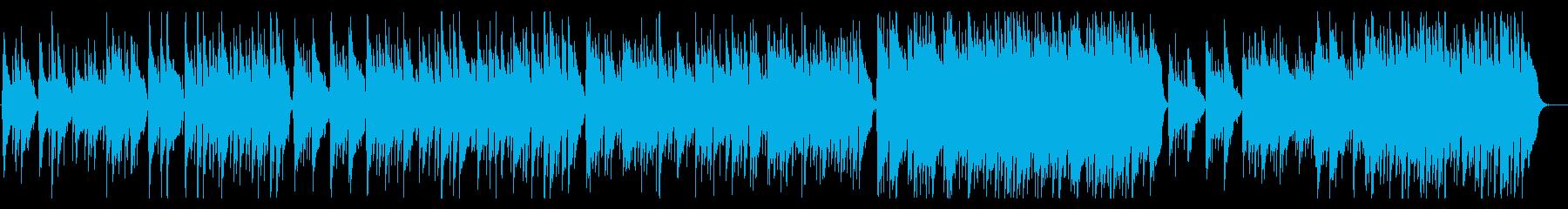 アコギとハープ主体の寂しく悲しげなBGMの再生済みの波形