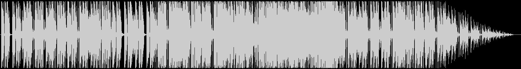 おしゃれなカフェフュージョンの未再生の波形