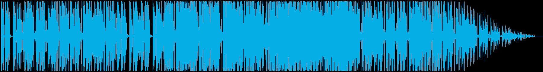 おしゃれなカフェフュージョンの再生済みの波形