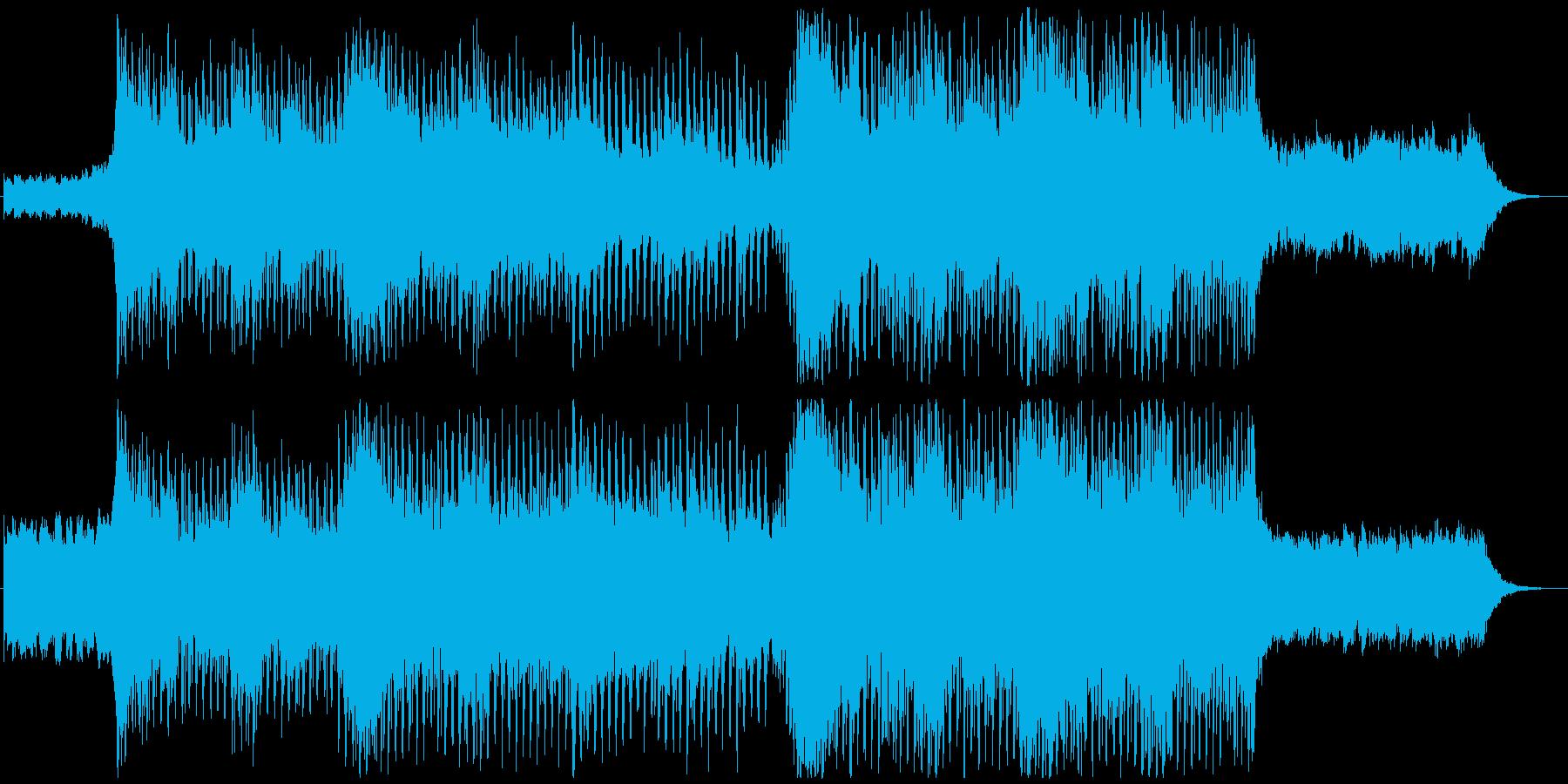 晴れ・ドライブ・風・企業VPエレクトロの再生済みの波形