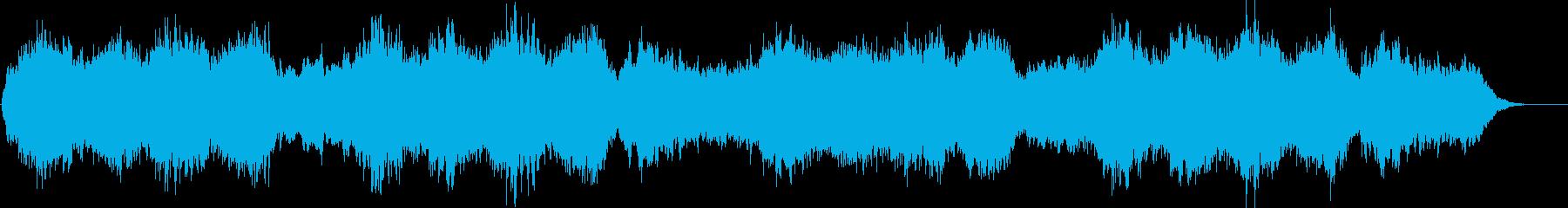 不思議で独特なメロディーの再生済みの波形