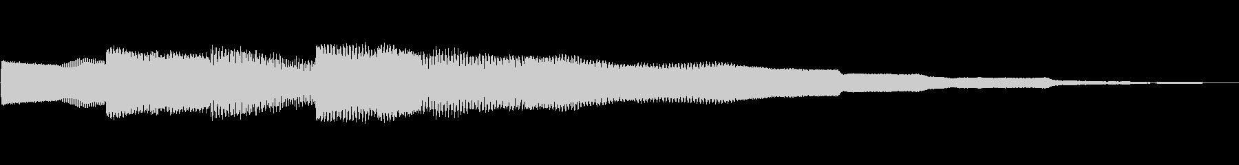 ピコピコーン!!クイズ回答タッチ 02の未再生の波形