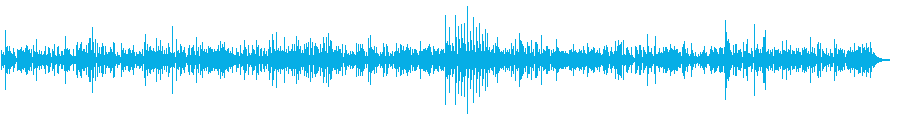 JAZZ|爽やかなリラックスカフェBGMの再生済みの波形